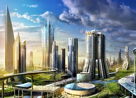 NEOM a futuristic megacity project that is part of Saudi Arabias Vision 2030